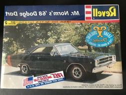 REVELL 1968 DODGE DART MR. NORM'S UNBUILT MODEL CAR KIT FACT