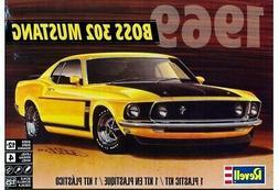 Revell 1969 Ford Boss 302 Mustang 1:25 scale model car kit n