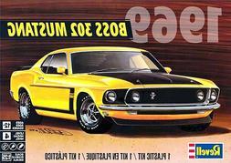 Revell 1969 Ford Boss 302 Mustang Model Kit #85-4313
