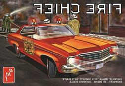 AMT 1970 Chevy Impala Fire Chief 1:25 scale model kit new 11