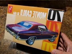 AMT 1970 Chevy Monte Carlo 1/25 plastic model car kit new 92