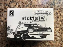 1970 FORD POLICE CAR 1/25 AMT1995 Vintage, new kit in sealed