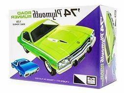 MPC 1974 Plymouth Road Runner 1:25 scale model car kit new 9