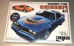 MPC 1977 Pontiac Firebird T/A 1:25 scale model car kit new 9