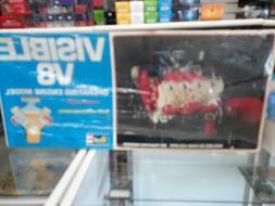 1977 Revell Visible V8 Operating Engine Model Never Opened s