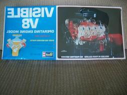 1977 Revell Visible V8 Operating Engine Model NEW OLD STOCK!