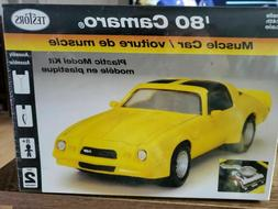 Testors 1980 Camaro Muscle Car 1/24 Scale Model Kit-New Seal