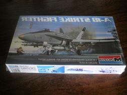 1983 Monogram   A-18 STRIKE FIGHTER  Model Kit 1/48 scale  #