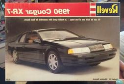 Revell 1990 - Cougar XR-7 -  1/25 Scale Model Kit # 7185 Fac