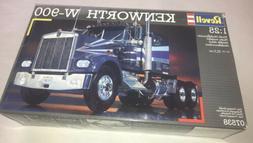 1992 Revell Germany 7538 Kenworth W-900 Semi Truck Model Kit