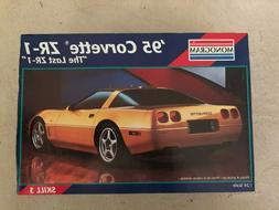 Monogram 1995 Corvette ZR-1 1:24 Scale Model New Open Box