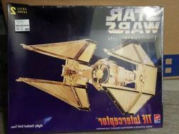1995 AMT ERTL Star Wars TIE Interceptor Limited Edition Gold