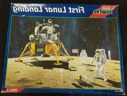 1995 Monogram First Lunar Moon Landing Module Spaceship & As