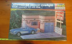 1997 Revell Monogram Highway Scenes '60 Corvette with Die-Cu