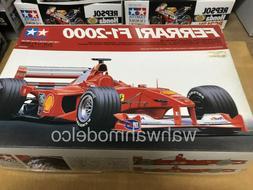 Tamiya 20048 1/20 Model Formula One Car Ferrari F1-2000 M.Sc