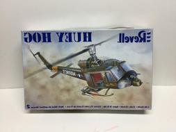 Revell 2005 Huey Hog Model Kit Military Helicopter Vietnam M