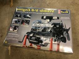 2006 REVELL VISIBLE V-8 ENGINE 1/4 SCALE MODEL KIT #85-8883