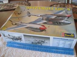 2009 Revell 1/48, P-38J Lightning, Fighter Plane/Bomber,comp