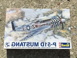 2009 Revell P-51D Mustang 1:48 Scale Plastic Airplane Model
