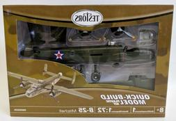 2010 TESTORS B-25 Mitchell 1:72 Scale Model Kit, SEALED! Ski