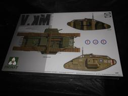TAKOM 2034, 1/35 WWI HEAVY BATTLE TANK MK.V 3 IN 1 PLASTIC M