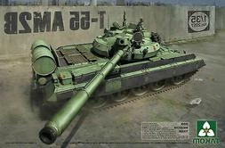 Takom 2057 1:35 T-55AM2B Medium Tank - Plastic Model Kit