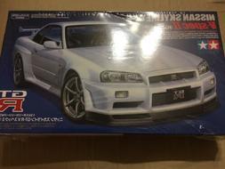 24258 Nissan Skyline GT-R V-Spec II Tamiya 1/24 plastic mode