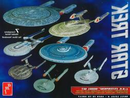 AMT MODELS 954 1/2500 ENTERPRISE SNAP KITS - 7 COMPLETE KITS