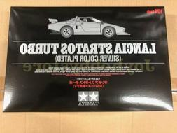 Tamiya 25418 1/24 LANCIA STRATOS TURBO KIT Silver Color Plat
