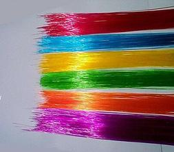 .25mm 150ft Colored FIBER OPTIC MODEL LIGHTING many uses + F