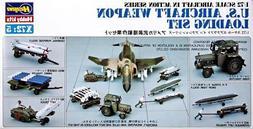 Hasegawa 35005 US Aircraft Weapon Loading Set 1/72 Scale Pla