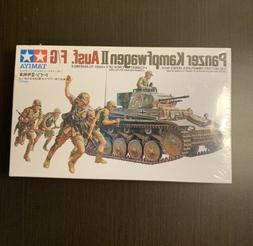 Tamiya 35009 WWII German Panzer Kampfwagen II Ausf. F/G plas