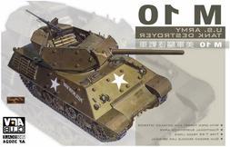 AFV Club 35024 U.S. M-10 Tank Destroyer plastic model kit 1/