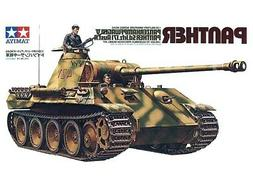 Tamiya 35065 WWII German Panther Tank 1/35 Scale Plastic Mod