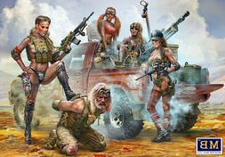 Master Box 35199 - 1/35 Desert Battle Series Skull Clan New