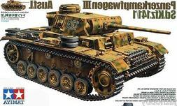 Tamiya 35215 1/35 Model Tank Kit German PzKpfw Panzer III Au