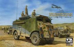 AFV Club 35235 Rommel's Mammoth Dak 1/35 Scale Plastic Model