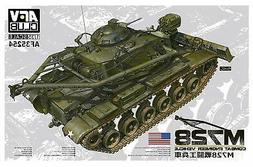 AFV Club 35254 US Army M728 Combat Engineer Vehicle 1/35 Sca