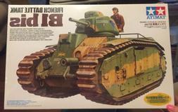 Tamiya 35282 1/35 Scale FRENCH BATTLE TANK B1 bis Model Kit