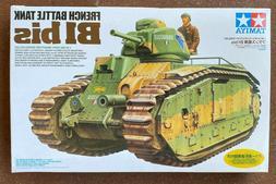 Tamiya 35282 French Battle Tank Char B1 bis 1/35 scale kit