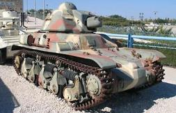 Tamiya 35373 WWII FRENCH LIGHT TANK R35 plastic model kit 1/