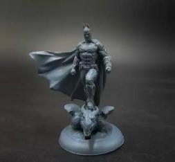 35mm Resin Figure Model Kit Super Hero Batman Miniature Unpainted Unassambled