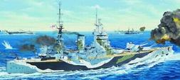 Trumpeter Models 3709 1:200 HMS Rodney British Battleship Pl