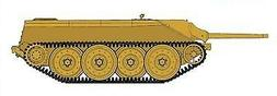 Trumpeter Models 385 1:35 German E10 Tank Destroyer