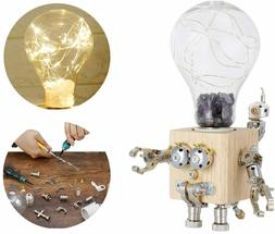 Hobby Model Kits to Build Metal Mechanical Puzzles with LED