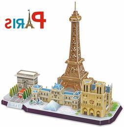 3D Puzzle for Adults and Kids Paris Cityline Architecture Bu