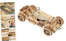 3D Wooden Puzzles for Adults Mechanical Models Kits to Build