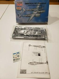 40-14410 MINICRAFT 1/144th Scale LOCKHEED P-38J LIGHTNING Pl
