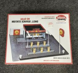 Model Power 415 HO Shell Service Station Building Kit New In
