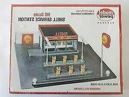 Model Power 415 HO Shell Service Station Building Kit